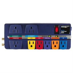 Monster Cable MP AV 800 PowerCenter with Surge Protection