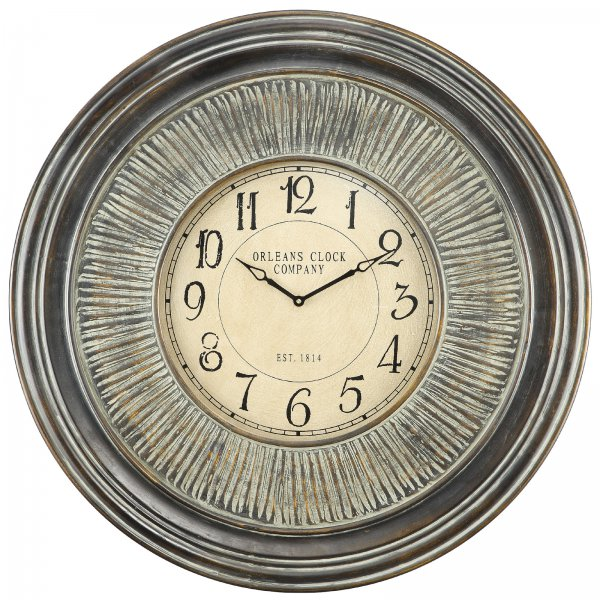 Lenna Wall Clock - by Cooper Classics - 4962
