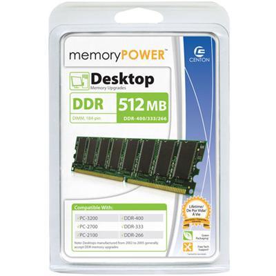 memoryPOWER memory - 512 MB - DIMM 184-pin - DDR