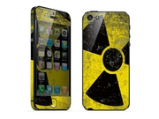 For Apple Iphone 5 Skins Nuclear Radiation Full Body Decals Protector Stickers Covers - Mac1208-86
