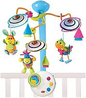 With multidimensional movement and tranquil music, the Tiny Love 00464 003 Classic Developmental Mobile entertains your baby and encourages important developmental skills