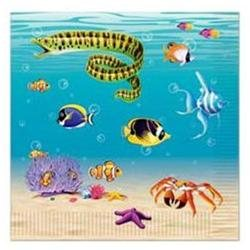 Under The Sea Luncheon Napkins 16 Per Pack - Beistle - 58116