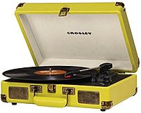 Crosley 710244205337 Cruiser Portable Turntable - Custard
