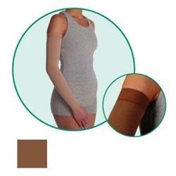 Juzo 2001CGRSB53 I 20-30mmHg Soft Sleeve Regular - Silicone Chocolate