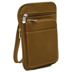 Piel Personalized Leather Travel Organizer