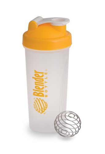 BlenderBottle 28-Ounce with Blenderball, Yellow
