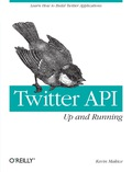 This groundbreaking book provides you with the skills and resources necessary to build web applications for Twitter
