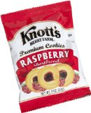 Knott's Berry Farm Raspberry Shortbread Cookie, 2-Ounce Packages (Pack of 60)