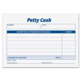 Receipt Pad, Petty Cash, 5-1/2