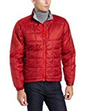 Outdoor Research Men's Neoplume Jacket, Redwood/Hot Sauce/Pewter, X-Large