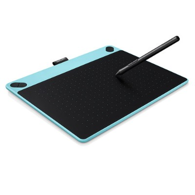 Wacom Cth490ab Intuos Art Small - Digitizer - 6 X 3.7 In - Multi-touch - Electromagnetic - 4 Buttons - Wired - Usb - Blue