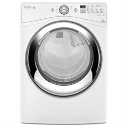 Whirlpool Duet White Electric Steam Dryer
