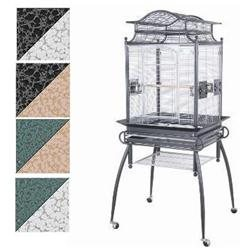 Marvelous Pet Supplies Veranda Black & Gray Bird Cage