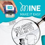 MINE STAMP CLOTHING MARKER, also suitable for BOOKS & ACCESSORIES, Personalise Garment, Children's School Uniform/Clothes/Clothing Labels For Kids/Children, no need to sew, For School Wear.