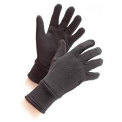 Shires Winter Warm Long Cuff Gloves Medium Blk