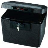 SentrySafe 1170 Black 1/2 Hour FIRE-SAFE File, 0.61 Cubic Feet, Black