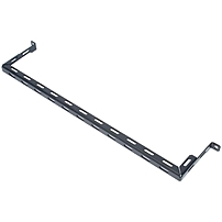 "Rack Solutions Cable Management Bar - Cable Management Bar - Black Powder Coat - 1u Rack Height - 19"" Panel Width 137-1948"