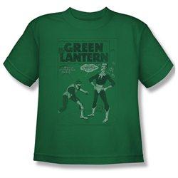 Youth(8-12yrs) GREEN LANTERN Short Sleeve PERILOUS TRAPS Medium T-Shirt Tee