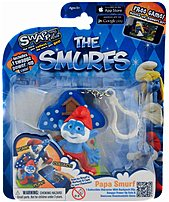 Use your Swappz 12216 Smurfs figure to feed your Smurfs, exercise your Smurf, educate your Smurf, wash your Smurf and put your Smurf to bed