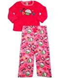 Healthtex - Baby Girls Long Sleeve Cupcakes Pajama Set, Racy Pink 33995-12Months