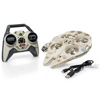 Air Hogs Star Wars Remote Control Ultimate Millennium Falcon Quad By Spin Master