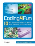 How would you like to build an Xbox game, use your Nintendo Wiimote to create an electronic whiteboard, or build your own peer-to-peer application? Coding4Fun helps you tackle some cool software and hardware projects using a range of languages and free Microsoft software