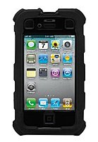 Ballistic Hard Core Series Ha0778-m005 Smartphone Case For Iphone 4 - Black