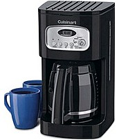 This classically designed coffeemaker Cuisinart DCC 1100BK is accented with stainless steel for a look that is sure to enhance your countertop
