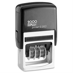COSCO 065005, Cosco 2000 Plus Self-inking Message Stamp, COS065005, COS 065005