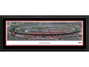 California Speedway - Deluxe Framed Panoramic Print