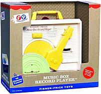 Fisher Price 012-35-6573 Classic Record Music Box Player