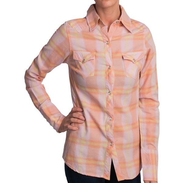 Tin Haul Yarn-Dye Plaid Shirt - Long Sleeve (For Women)