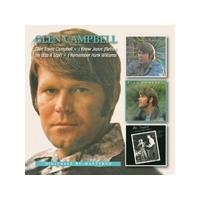 Glen Campbell - Glen Travis Campbell / I Knew Jesus / I Remember Hank Williams (Music CD)