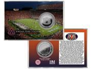 Auburn University Jordan Hare Stadium Silver Coin Card