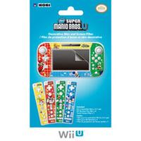 Hori Officially Licensed Mario Skin and Filter Set (Wii U)