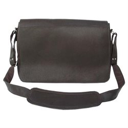 Piel Personalized Leather Traditional Messenger Bag