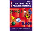 Hayes School Publishing Br155 Problem Solving In Mathematics Grade 5- 36 Page 8.5   X 11   Workbook