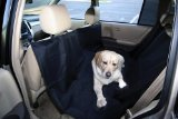 Outward Hound Kyjen  OH00679 Back Seat Hammock Dog Auto Travel Back Seat Pet Hammock Easy-Fit Seat Cover, Large, Black
