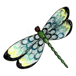 River Cottage Gardens Metal Dragonfly Wall Art