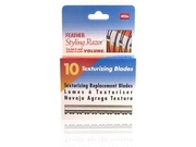 Jatai Feather Texturizing Replacement Blades 10 Texturizing Blades