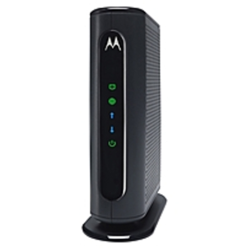 Motorola Mb7220-10 8x4 Cable Modem, Model Mb7220, 343 Mbps Docsis 3.0, Certified By Comcast Xfinity, Time Warner Cable, Cox, Brighthouse, And More - 1