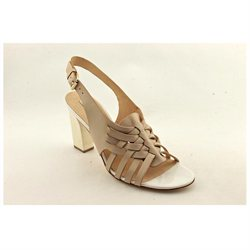 Diane Von Furstenberg Taite Womens Nude Leather Dress Sandals Shoes