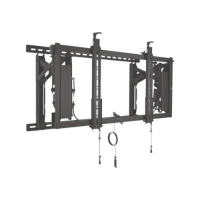 Chief Lvs1u Connexsys Video Wall System - Wall Mount For Video Wall - Black - Screen Size: 42-80
