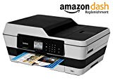 Brother Printer MFC-J6520DW Wireless Color Printer with Scanner, Copier and Fax, Amazon Dash Replenishment Enabled