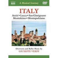 Musical Journey: Italy - Assisi, Lucca, San Gimignano, Montalcino, Montepulciano (Music CD)