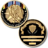 Armed Forces Expeditionary Medal Coin - Engravable Challenge Coin