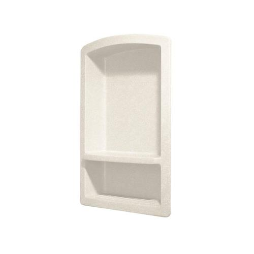 Swanstone Rs-2215-059 Recessed Solid Surface Soap Dish In Tahiti Ivory