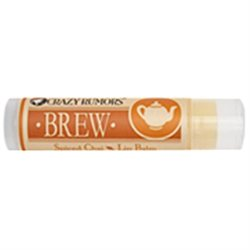 Brew Lip Balm Spiced Chai Spiced Chai (Case of 4) / 0.15 oz by Crazy Rumors