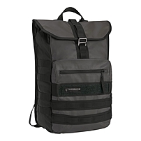 Designed exclusively for Apple, Timbuk2's Spire backpack gives your MacBook Pro and iPad plenty of protection in a serious drizzle thanks to its waterproof TPU and canvas fabric construction