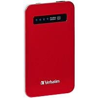 Verbatim Ultra-slim Power Pack, 4200mah - Red 98453